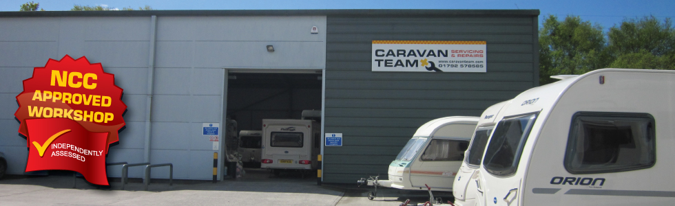 Caravan Team : Caravan Accessories and Camping Equipment : Caravan and Motorhome Servicing and Repairs